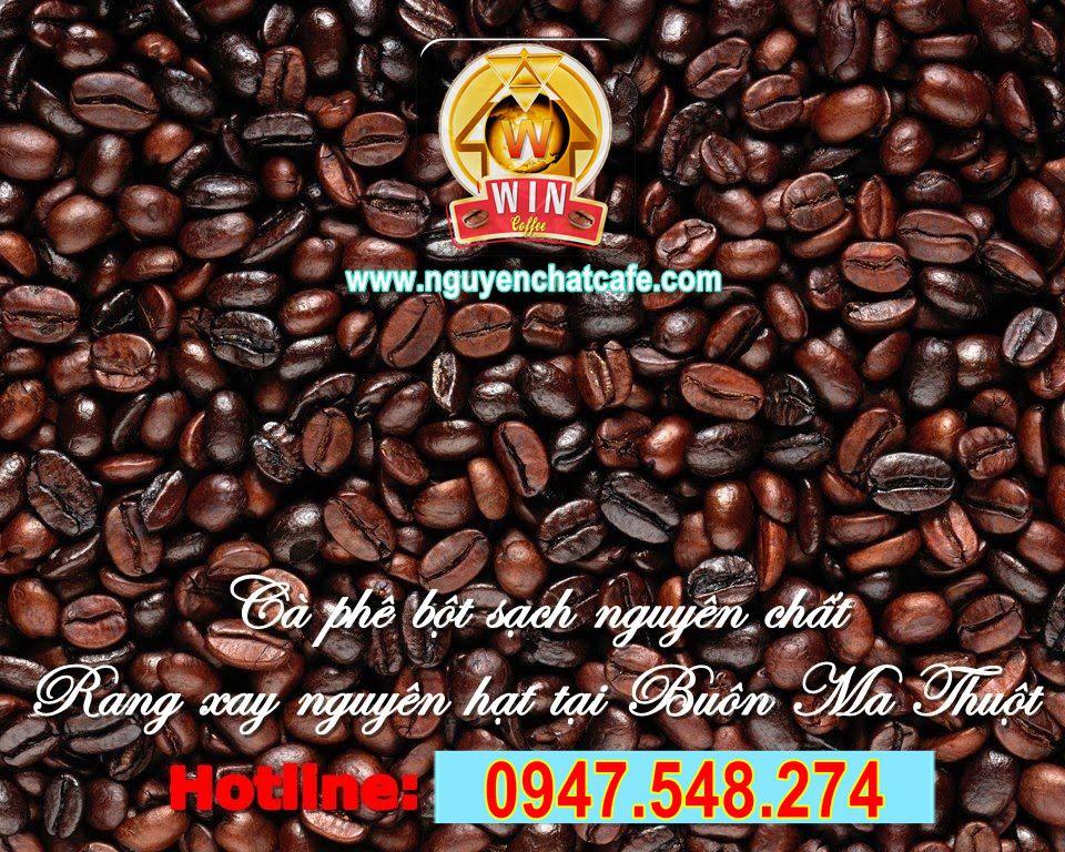 Cà phê bột sạch nguyên chất, rang xay nguyên hạt tại Buôn Ma Thuột