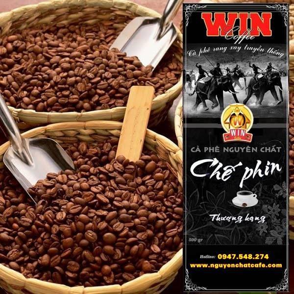 Cà phê bột pha phin thượng hạng - bịch 500 g