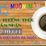 Đa số người việt chưa nhận biết được thế nào là ly cà phê Nguyên chất