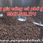 Dịch vụ rang cà phê gia công giá rẻ cạnh tranh